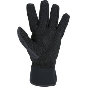 Sealskinz Waterproof All Weather Guantes Ligeros Mujer, negro/gris